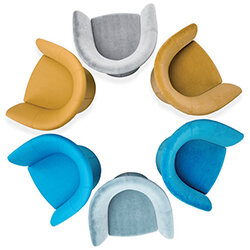 Vizz by Kleiber Reception Conference Room tub chairs