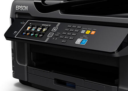 epson workforce wf 7610dwf a3 business inkjet wireless multifunction printer. Black Bedroom Furniture Sets. Home Design Ideas